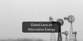 Global laws on alternative energy