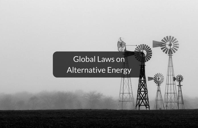 Global laws on alternative energy