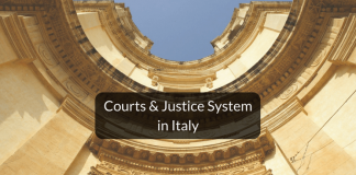 Hierarchy of Courts & Justice system in Italy