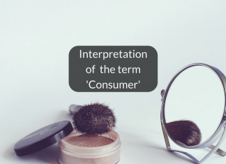 Interpretation of the term Consumer with reference to beauty services