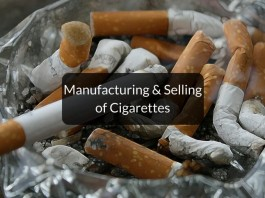 Laws on selling & manufacturing of cigarettes in India