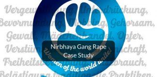 Nirbhaya gang rape case study