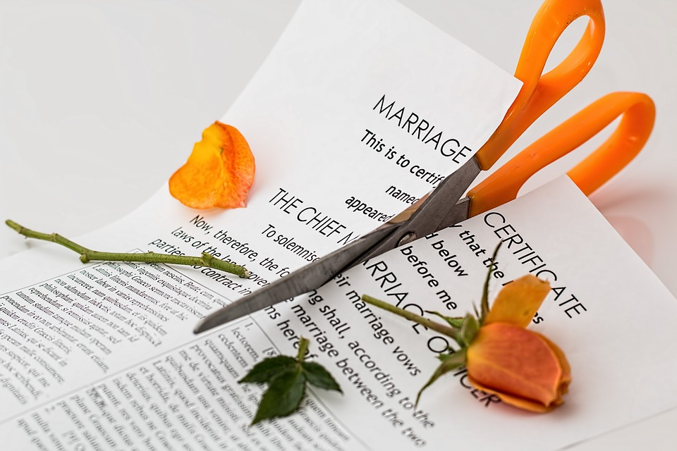 Separation agreement between husband and wife in India