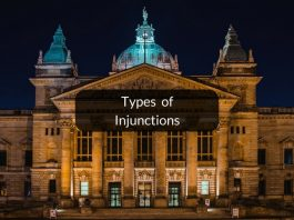 Types of injunctions