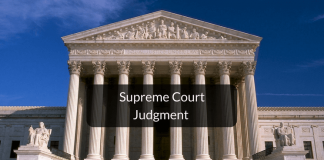 What to do if supreme court judgement is against you
