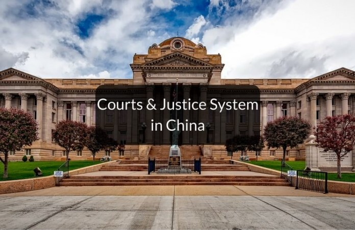 courts & justice system in China