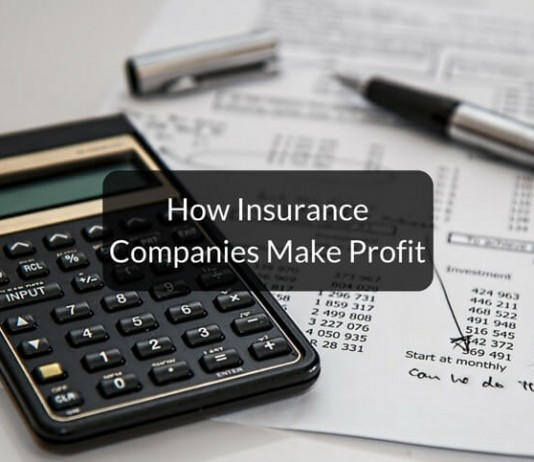 how insurance companies make profit