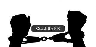 how to quash the FIR
