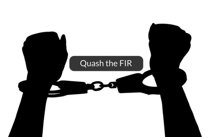 how to quash the FIR