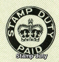 Stamp duty 50 common documents