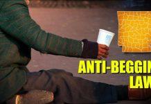 anti-begging