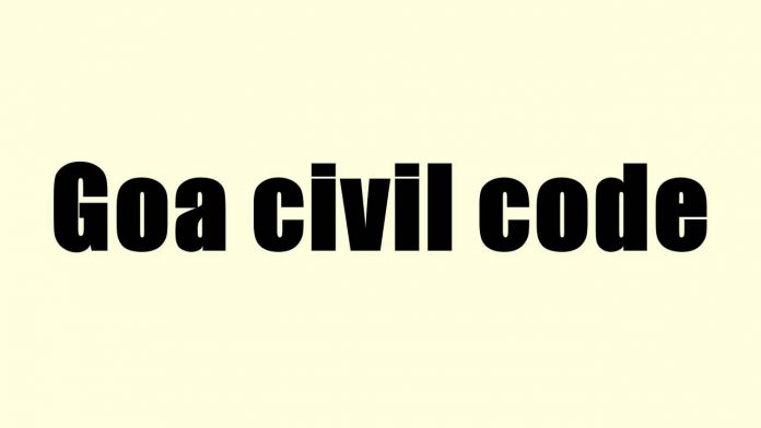 Goa Civil Code
