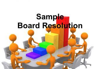 board resolution