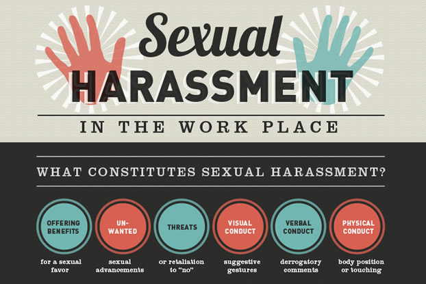 Sexual harassment 4 types of sentences