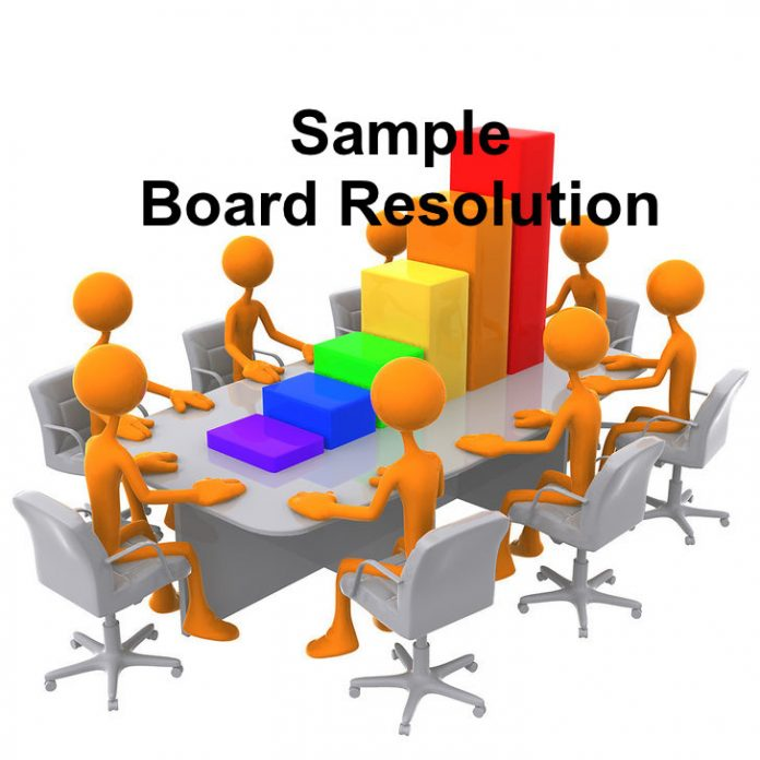 board resolution
