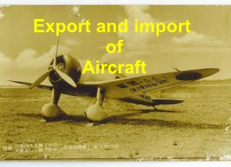 export and import of aircraft