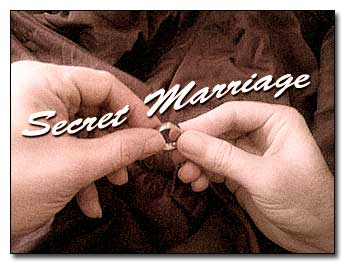 secret marriage