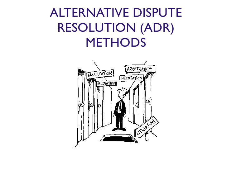 All You Need To Know About Alternative Dispute Resolution Adr