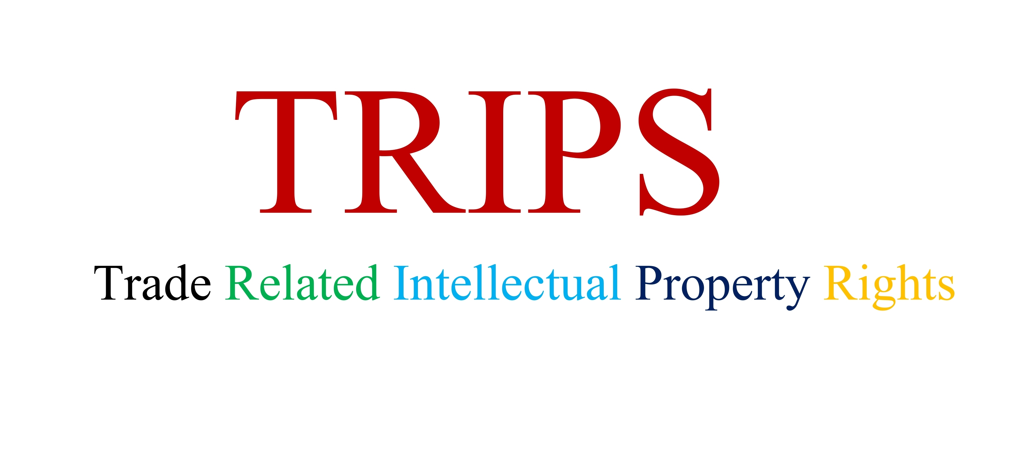 Trips Agreement Intellectual Property
