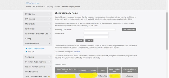 How To Find Out The Name Of The Shareholders Of A Company Using