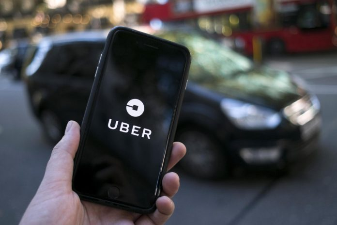 Business structure of UBer