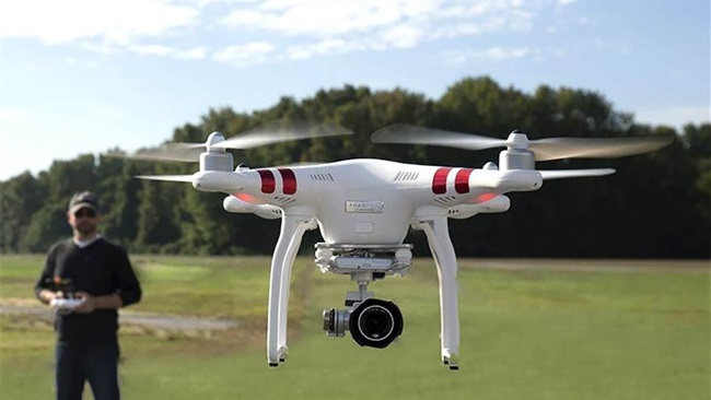 hover drone camera
