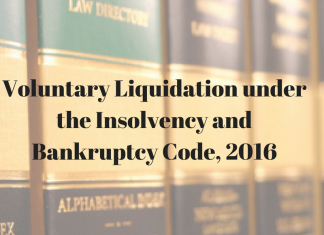Voluntary Liquidation under the Insolvency and Bankruptcy Code, 2016