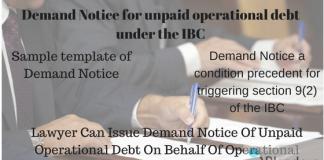 demand notice