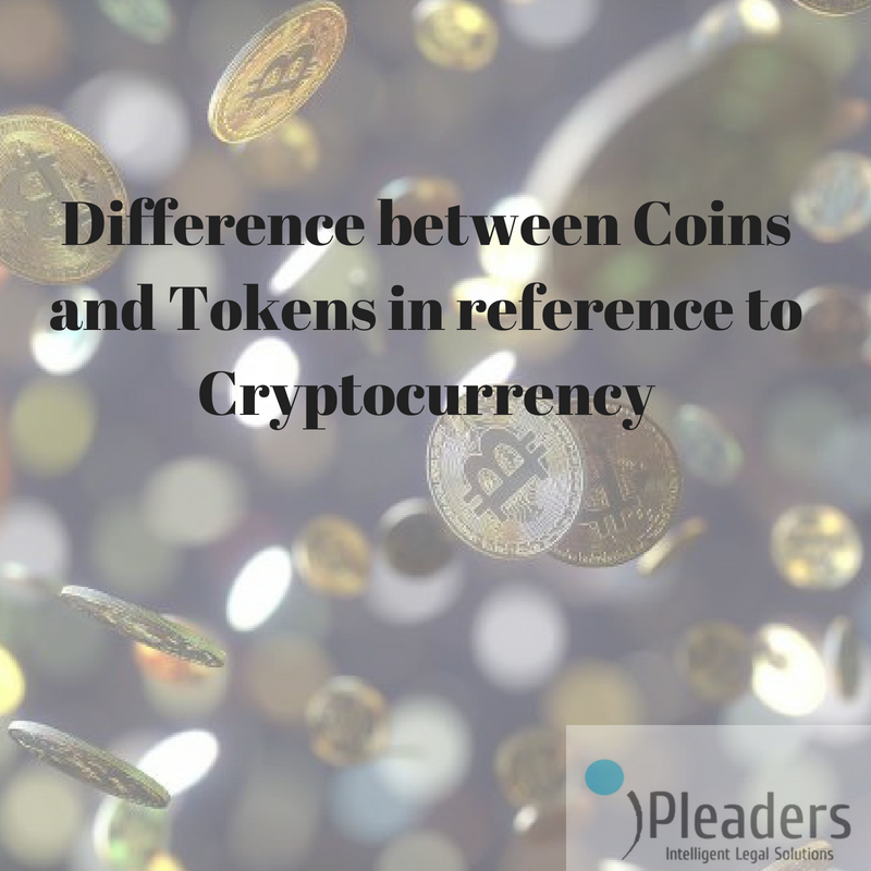 what is the difference between token and coin in cryptocurrency