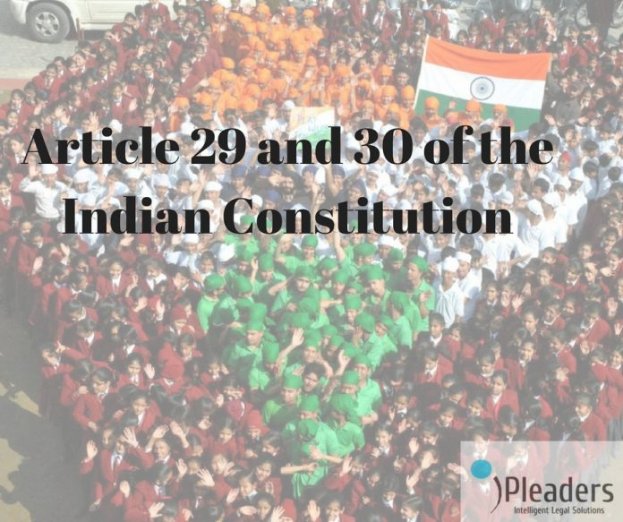 Article 29 and 30