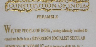 preamble constitution India