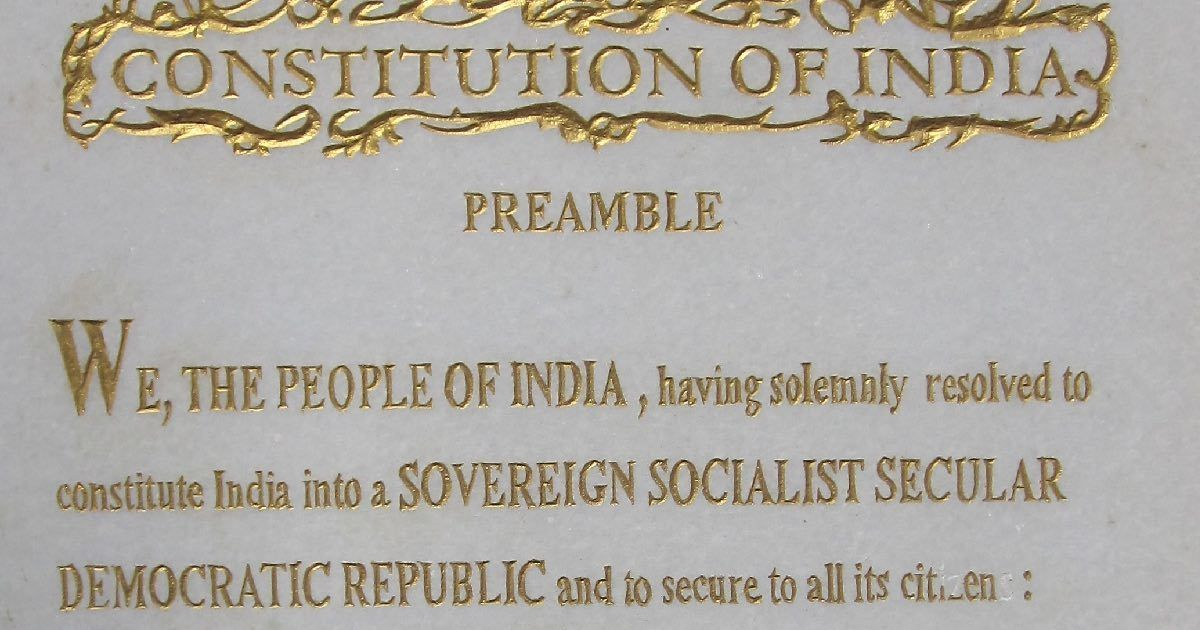Preamble of uk