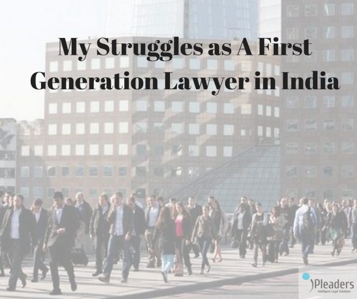 first generation lawyer
