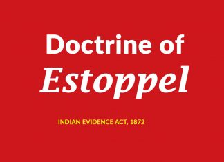 Estoppel meaning in law