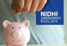 Nidhi Amendment Rules, 2019