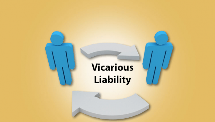 Vicarious liability in partners