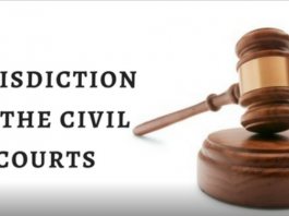 jurisdiction of civil courts