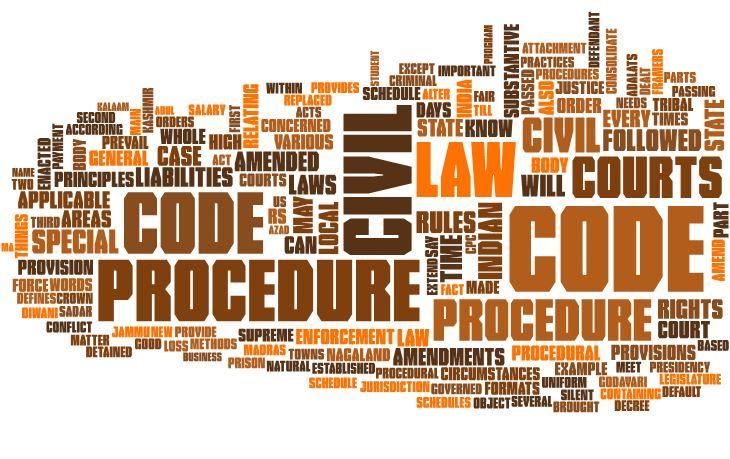 Civil Procedure Code, 1908 law notes - iPleaders