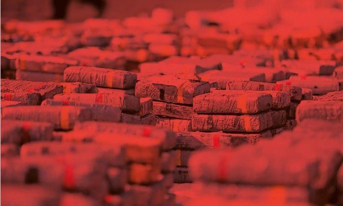 narcotics trafficking through West Africa