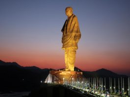 Law and politics involved in building statues india