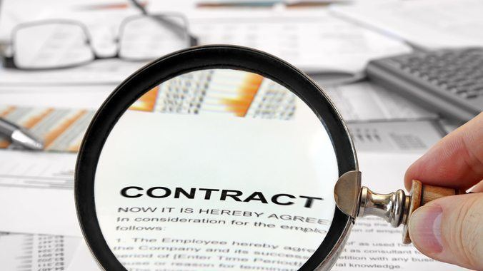 Contract of service