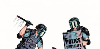 Police brutality and human rights violation
