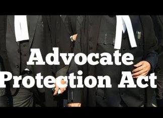 Advocates (Protection) Bill, 2021
